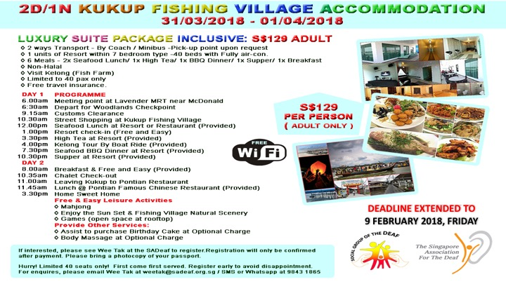 2D/1N Kukup Fishing Village – The Singapore Association for