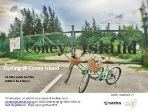 Cycling @ Coney Island @ Singapore