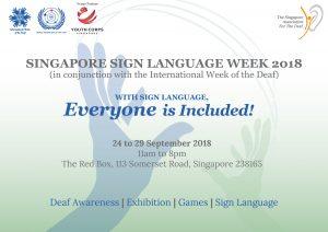 Singapore Sign Language Week @ The Red Box | Singapore | Singapore