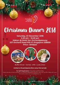 Christmas Dinner 2018 @ Hotel Jen Orchardgateway | Singapore | Singapore