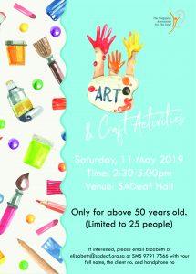 Art & Craft Activities @ SADeaf Hall | Singapore | Singapore