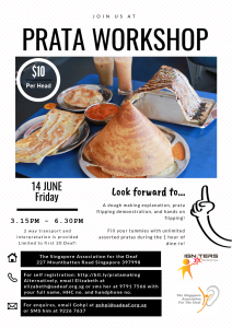 Prata-Making Workshop @ SADeaf (Meeting Point) | Singapore | Singapore