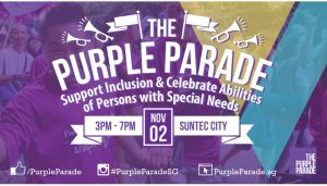 Purple Parade 2019 @ Suntec City (outdoor spaces between Tower 1 & Tower 5) | Singapore | Singapore