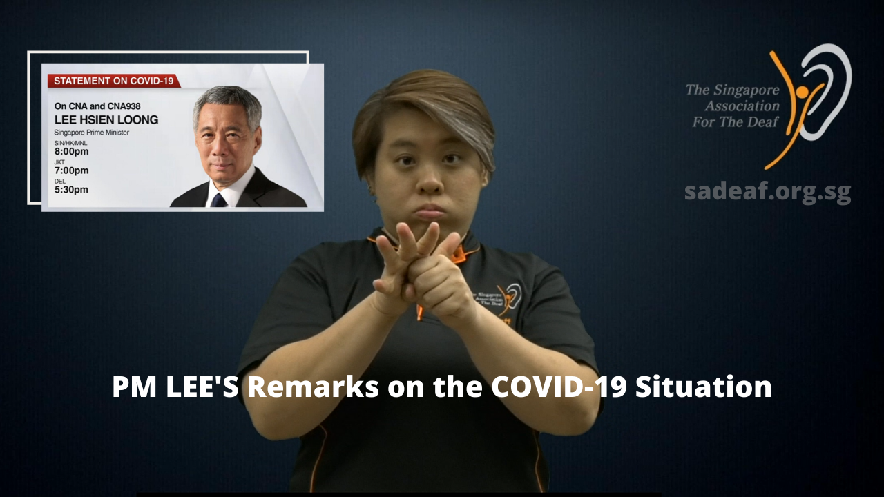 PM Lee COVID Statement