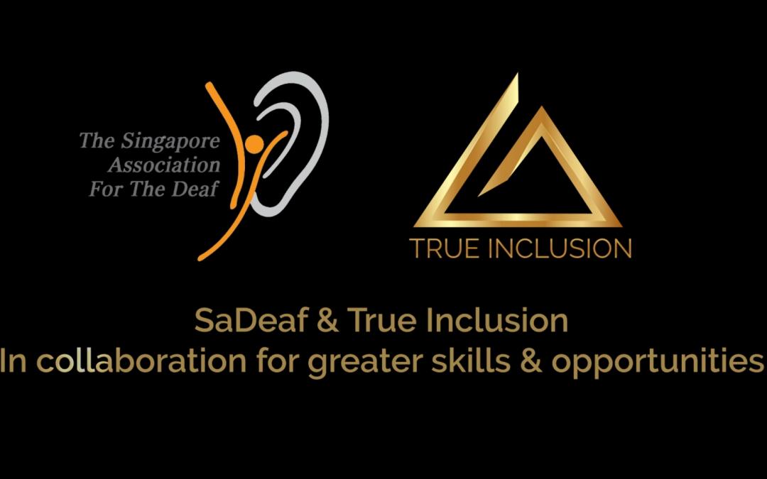 SADeaf x True Inclusion FB Live Session, 6 Apr 2020