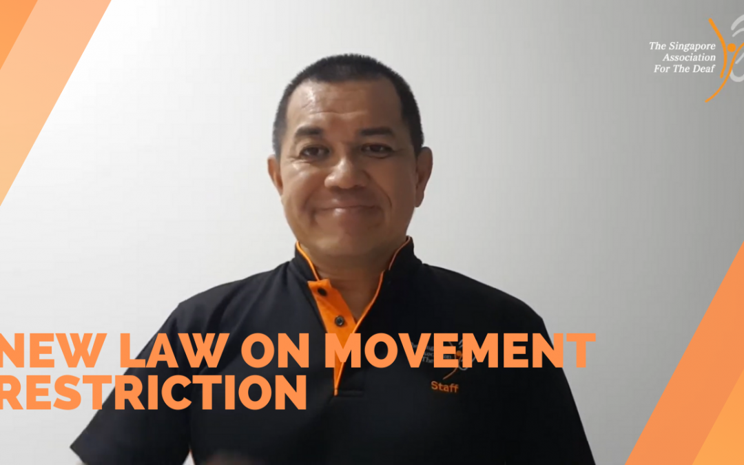New Law on Movement Restriction