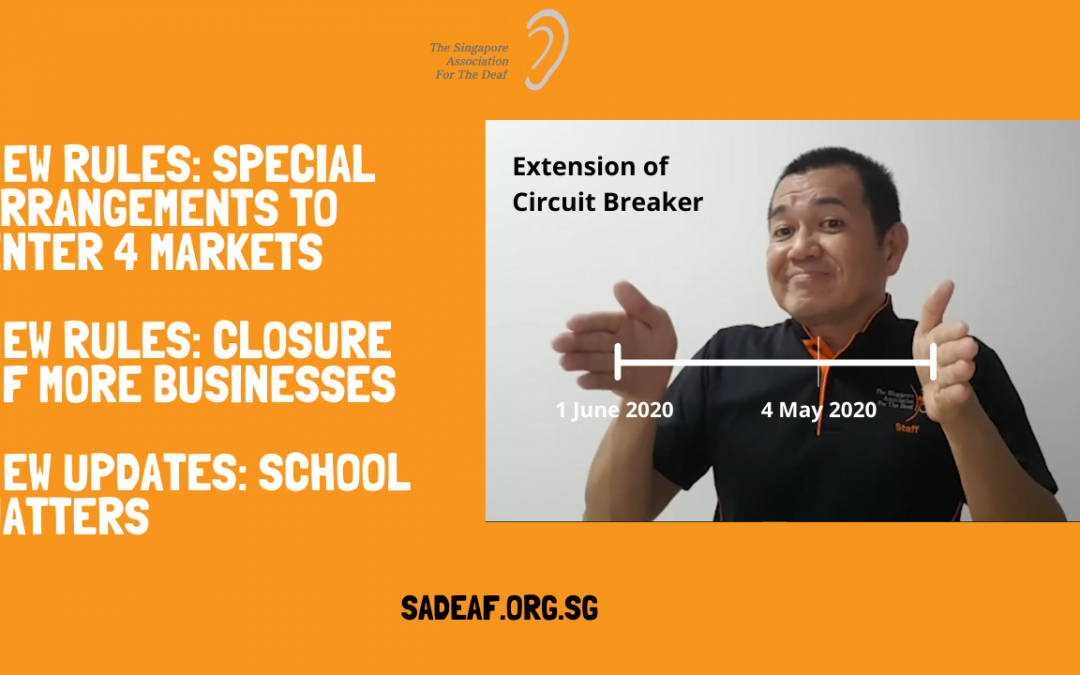 Extension of Circuit Breaker till 1 June