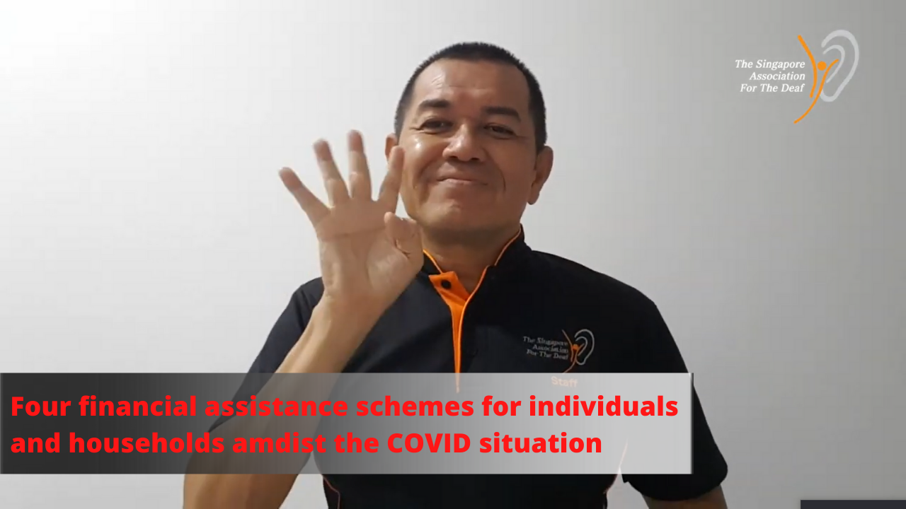 Four financial assistance schemes for individuals and households amidst the COVID situation
