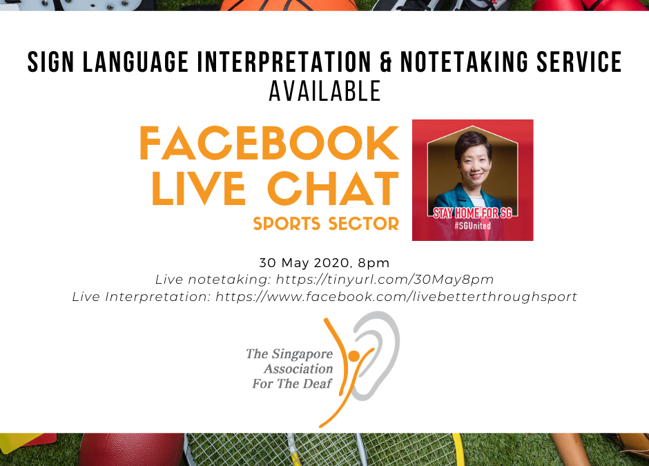 Facebook Live Chat with Minister Grace Fu