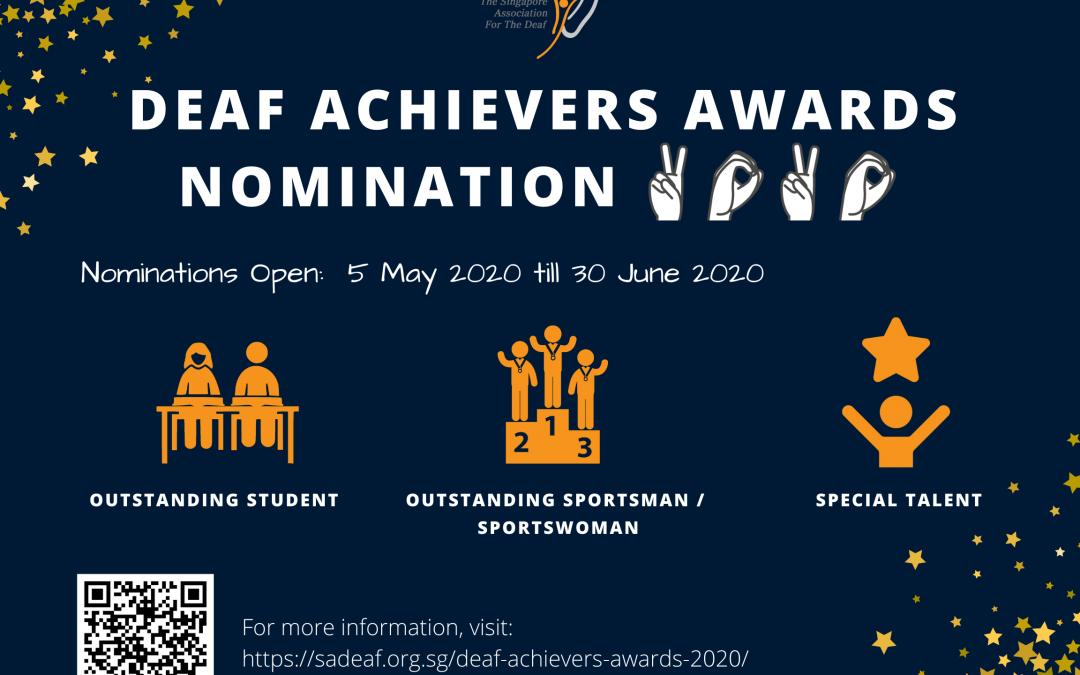 Deaf Achievers Awards 2020