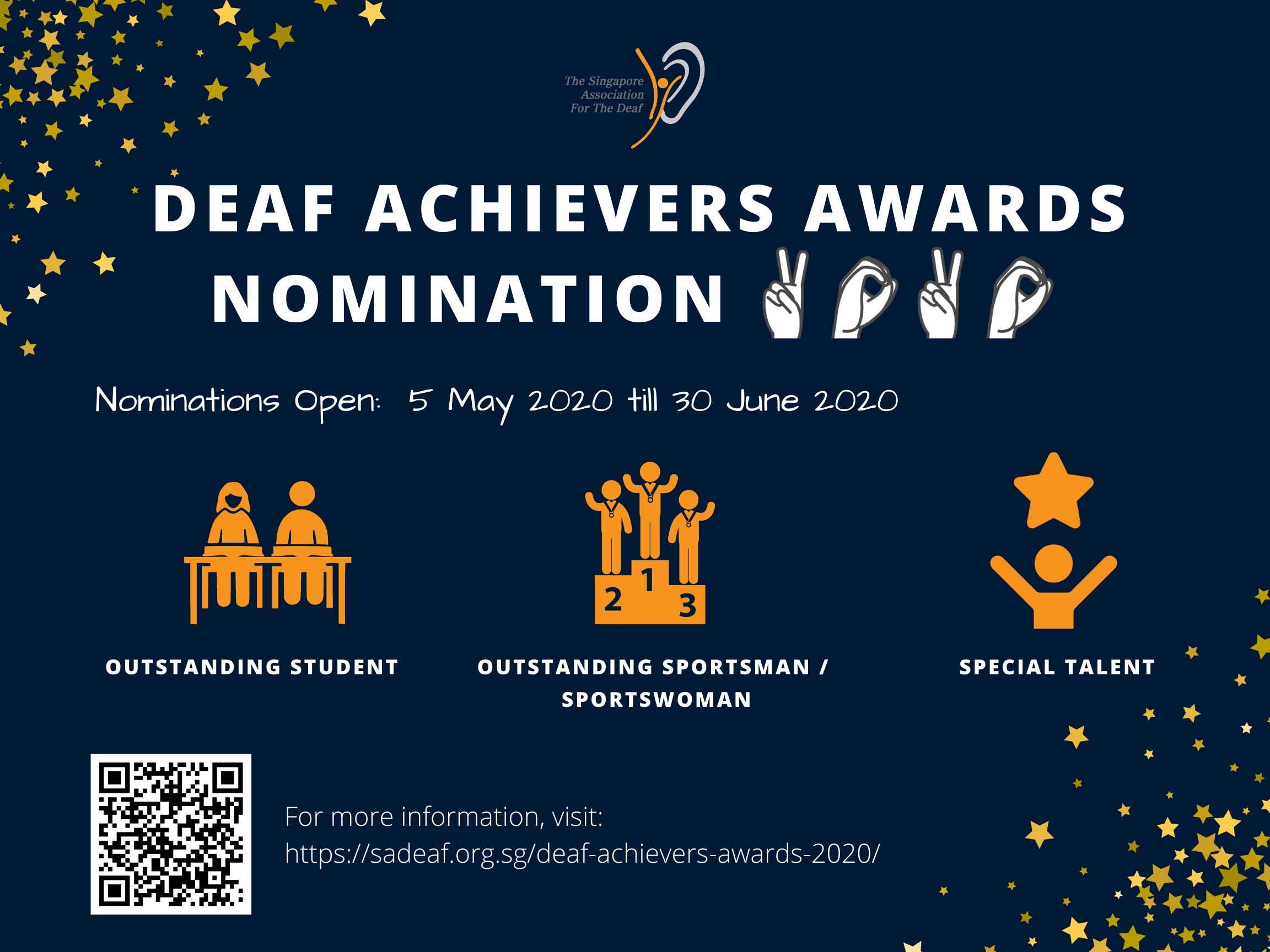 Deaf Achievers Awards 2020 - Nominations