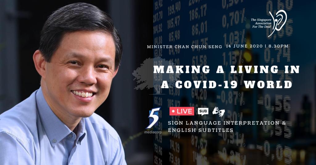 Making a living in a COVID-19 World - Chan Chun Seng