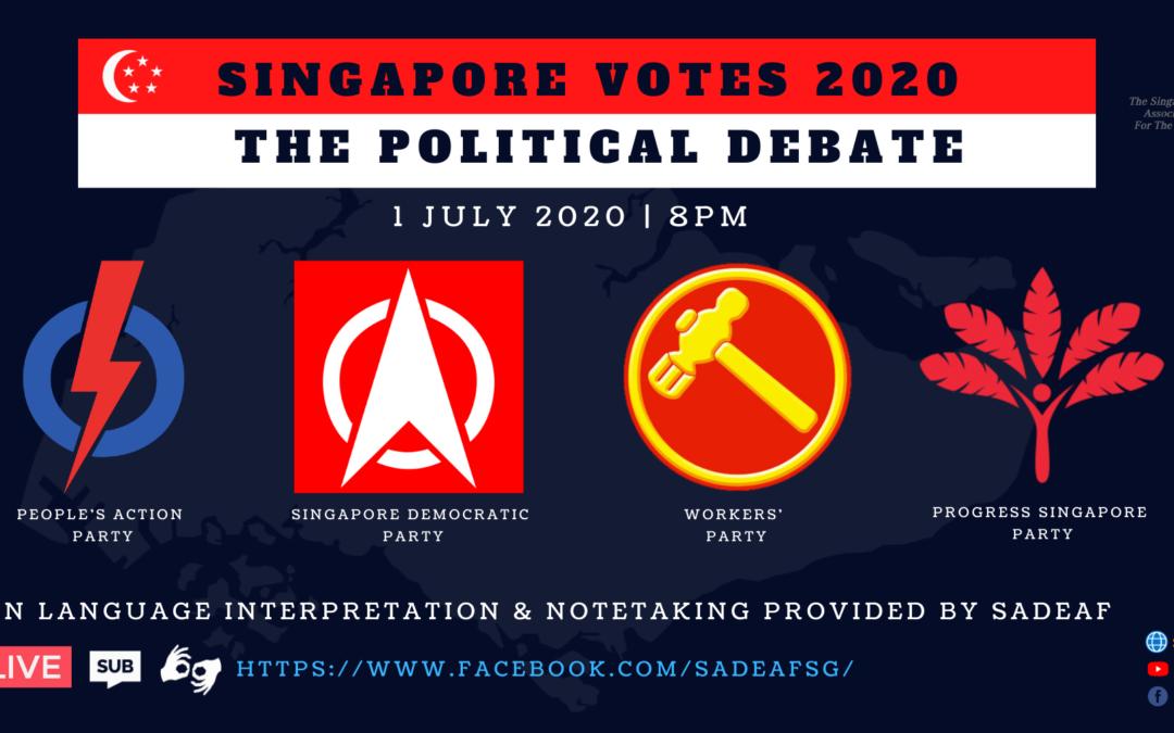 Singapore Votes 2020 – The Political Debate