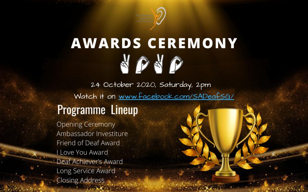 SADeaf Awards Ceremony 2020