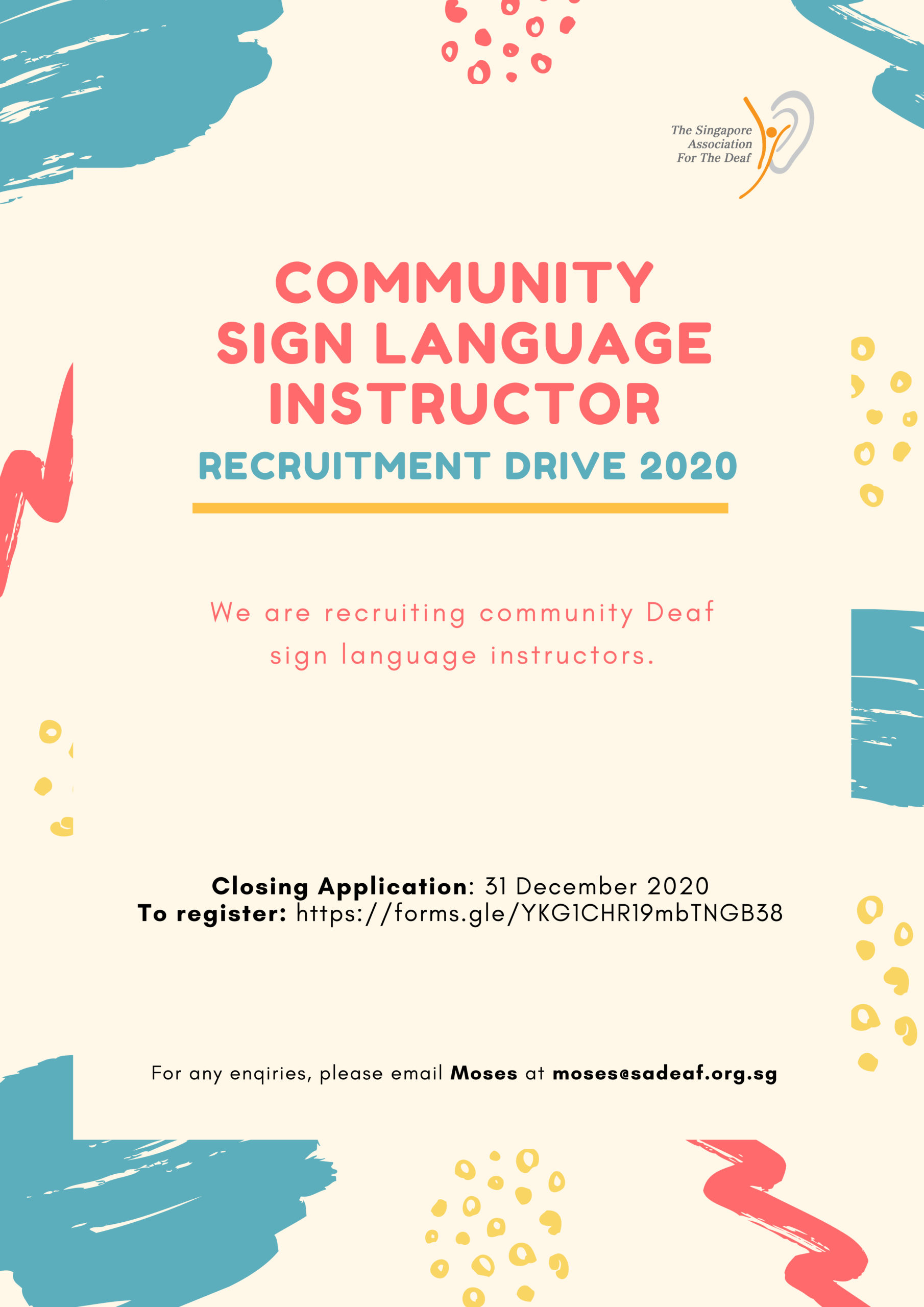 Community Sign Language Instructors